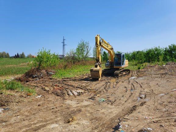Slika 8: Radovi na kanalizacijskoj mreži u Osječkoj ulici u Požegi, - radove izvodi Niskogradnja Marjanović d.o.o. Kaptol.